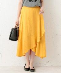 【SonnyLabel】リネンラップマキシスカート