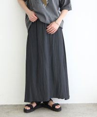 【WEB限定】サテンマキシスカート