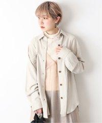 JW VIS麻ロングオーバーサイズシャツ