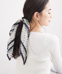 モノグラム柄スカーフ