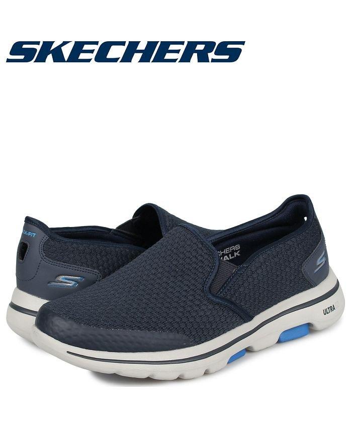 (SKECHERS/スケッチャーズ)スケッチャーズ SKECHERS ゴーウォーク 5 スリッポン スニーカー メンズ GO WALK 5 APPRIZE ネイビー 55510/メンズ その他
