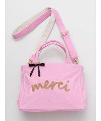 【欧州航路】merci ビーズ刺繍キャンバスバッグ LIJP0101