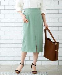 リネンライクイージータイトスカート