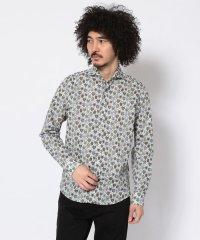 SCROLL(スクロール)リバティパドロックプリントシャツ