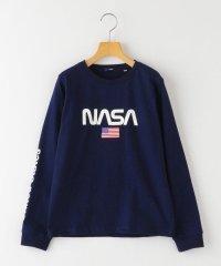SHIPS KIDS:NASA グラフィック TEE(145~160cm)