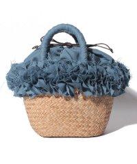 【cachellie】籠編みバッグ