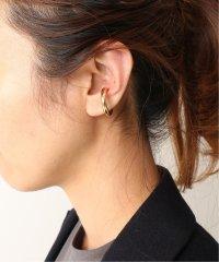 ≪予約≫【SASKIA DIEZ】BOLD EAR CUFF NO.3 チュウ(ゴールド)3◆
