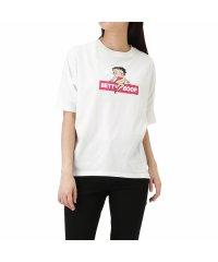 Betty Boop ドルマンプリントTシャツ F91470NM