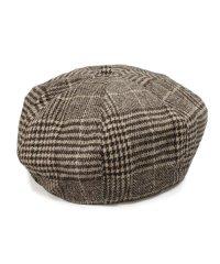 帽子 ベレー帽 ベレーチェック グレンチェック レディース メンズ 春 秋 冬 Keys