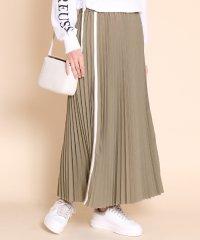 SCOTCLUB(スコットクラブ) アコーディオンプリーツラインスカート