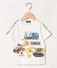 【トミカコラボ】 工事現場働く乗り物プリントTシャツ