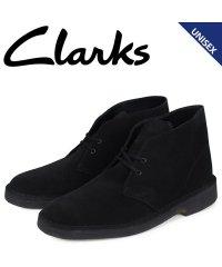 クラークス Clarks デザートブーツ メンズ レディース DESERT BOOT スエード ブラック 26138227 [予約商品 1/21頃入荷予定 追加
