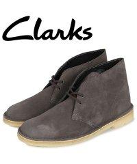 クラークス Clarks デザートブーツ メンズ DESERT BOOT ダーク グレー 26144232 [予約商品 1/21頃入荷予定 追加入荷]
