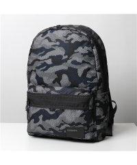 【DIESEL(ディーゼル)】X06264 P3042 MIRANO 迷彩柄 カモフラバッグ バックパック リュック ロゴ 鞄 H7850/ホワイトその他 メン