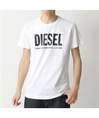 【DIESEL(ディーゼル)】00SXED 0AAXJ T-DIEGO-LOGO クルーネック 半袖 Tシャツ カットソー ロゴ 100 メンズ
