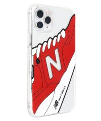 74467-2 iPhone 11 Pro New Balance [TPUクリアケース/スニーカー/レッド]