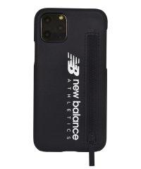 74470-1 iPhone 11 Pro New Balance [ジップ付き背面ケース/ブラック]