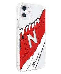 74471-2 iPhone 11 New Balance [TPUクリアケース/スニーカー/レッド]