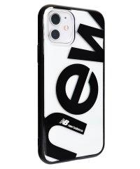 74473-1 iPhone 11 New Balance [クリアケース/new/ブラック]