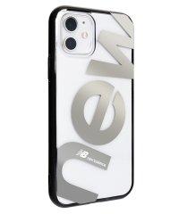 74473-2 iPhone 11 New Balance [クリアケース/new/シルバー]