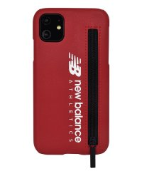 74474-2 iPhone 11 New Balance [ジップ付き背面ケース/レッド]