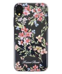 74321-1 iPhoneXR LAISSE PASSE [TPUクリアケース/PINK]
