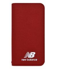 md-74263-3 iPhoneXR New Balance [シンプル手帳ケース/レッド]