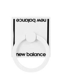 md-74264-2 New Balance [スマホリング/ベーシック/ホワイト]