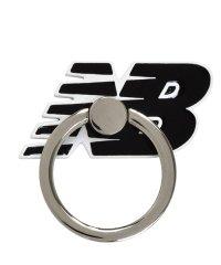 md-74265-1 New Balance [スマホリング/フライングロゴ/ブラック]