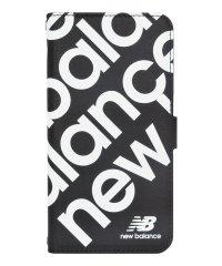 74475-1 マルチ手帳 New Balance [スタンプロゴ/ブラック]