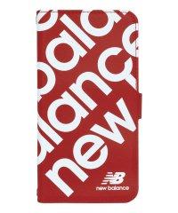 74475-2 マルチ手帳 New Balance [スタンプロゴ/レッド]