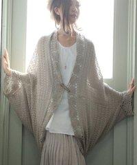 『フラワーモチーフ編みモモンガカーデ』
