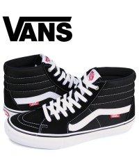 VANS ヴァンズ SK8-HI PRO スニーカー メンズ バンズ スケートハイ ブラック 黒 VN000VHGY28