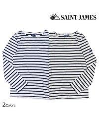 セントジェームス SAINT JAMES Tシャツ 長袖 ボーダー カットソー ロンティー ロンT メンズ レディース