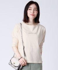 [RADIATE] HALLE ロゴプリント 7分袖 カットソー