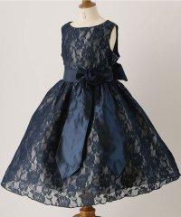 令嬢テイストのアンティークレースドレス (110-160cm)