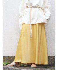 ヴィンテージサテンフィットマキシスカート