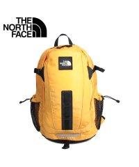 ノースフェイス THE NORTH FACE リュック バッグ バックパック ホットショット メンズ レディース 30L HOT SHOT SE イエロー NF