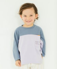 配色切り替えTシャツ(90~150cm)