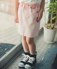 ケミカルカラーデニムスカート(S~XL)