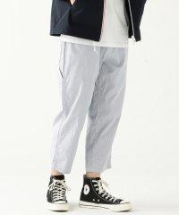 BEAMS / 裾裏パイピング 7分丈 ペインターパンツ
