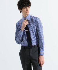 120/2ギザコットンブロード セミワイドカラー ドレスシャツ THOMAS MASON PORTLAND120