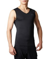 アンダーアーマー/メンズ/20S UA HG COMPRESSION SLEEVELESS V-NECK