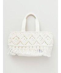 【Kahiko】マクラメ編みミニバッグ 43PP0102