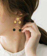 IRIS47 spiral earring