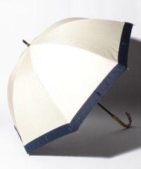 完全遮光 晴雨兼用 長傘 グログラン 遮光率100% 遮蔽率100% 1級遮光 遮熱 軽量 UVカット