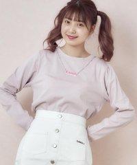 【CANDY】ネックレスロングTシャツ