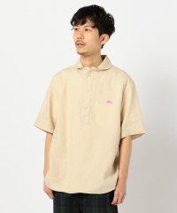 【DANTON/ダントン】リネン丸襟半袖シャツ #JD-3569 KLS