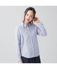 シャツ カジュアル 長袖 レギュラー衿 綿100% レディース ウィメンズ