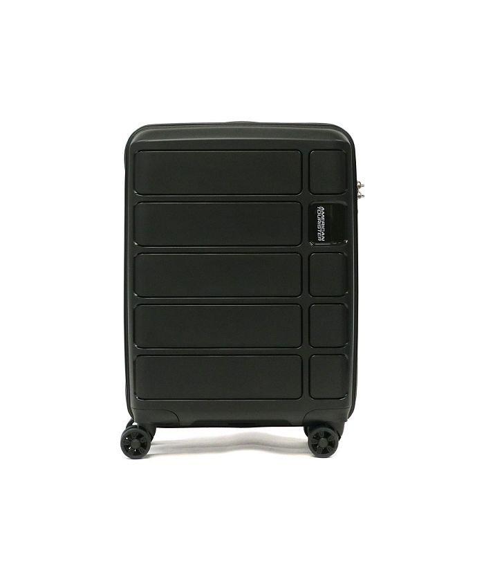 (AMERICAN TOURISTER/アメリカンツーリスター)【日本正規品】サムソナイト アメリカンツーリスター スーツケース AMERICAN TOURISTER 機内持ち込み Spinner 55 62G−905/ユニセックス ブラック